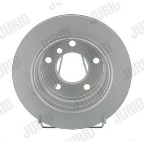 Bremsscheibe Bremsscheibendicke: 19mm, Lochanzahl: 5, Ø: 276mm mit OEM-Nummer 34.21.1.162.315