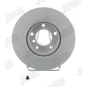 Bremsscheibe Bremsscheibendicke: 22mm, Lochanzahl: 5, Ø: 296mm mit OEM-Nummer 34.11.1.164.839