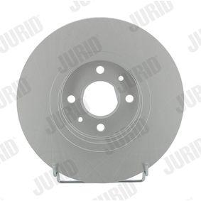 Renault Scenic 1 1.9dTi (JA0N) Bremsscheiben JURID 562103JC (1.9 dTi Diesel 2000 F9Q 734)
