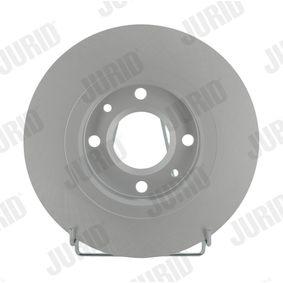 Bremsscheibe Bremsscheibendicke: 22mm, Lochanzahl: 4, Ø: 266mm mit OEM-Nummer 16 188 904 80