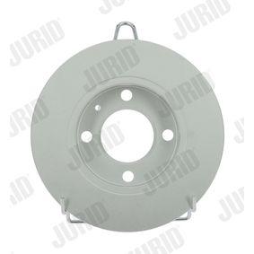 Bremsscheibe Bremsscheibendicke: 9mm, Lochanzahl: 4, Ø: 232mm mit OEM-Nummer 1JE615601