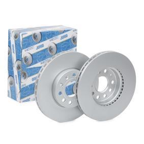 Bremsscheibe Bremsscheibendicke: 25mm, Lochanzahl: 5, Ø: 288mm mit OEM-Nummer 1K0 615 301K