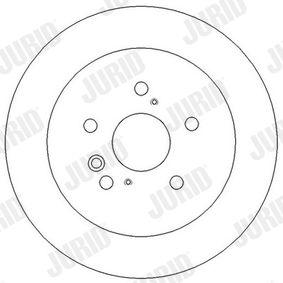 Bremsscheibe Bremsscheibendicke: 12mm, Lochanzahl: 5, Ø: 291mm mit OEM-Nummer 42431 28 090