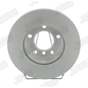 Bremsscheibe Bremsscheibendicke: 22mm, Lochanzahl: 5, Ø: 284mm mit OEM-Nummer 34 11 6 854 996