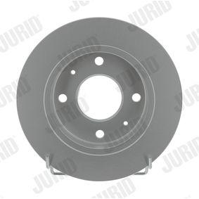 JURID  562574JC Bremsscheibe Bremsscheibendicke: 10mm, Lochanzahl: 4, Ø: 250mm