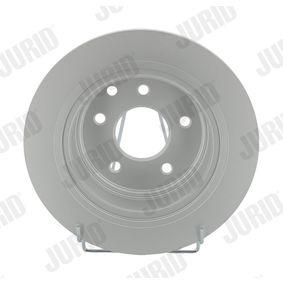 Brake Disc 562576JC JUKE (F15) 1.5 MY 2014