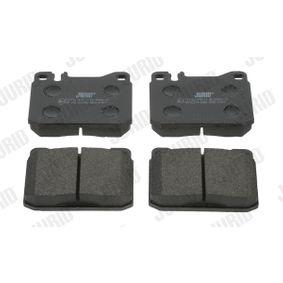 Bremsbelagsatz, Scheibenbremse Höhe 1: 74mm, Dicke/Stärke: 17,5mm mit OEM-Nummer 000.420.95.20