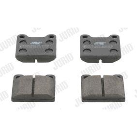 Bremsbelagsatz, Scheibenbremse Höhe 1: 56mm, Dicke/Stärke: 15mm mit OEM-Nummer 3102 54042