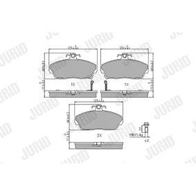 Комплект спирачно феродо, дискови спирачки височина 1: 69мм, дебелина: 17,5мм с ОЕМ-номер GBP90313