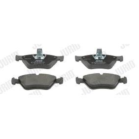 Bremsbelagsatz, Scheibenbremse Höhe 1: 60,9mm, Höhe 2: 71mm, Dicke/Stärke: 17,5mm mit OEM-Nummer 90 443 873