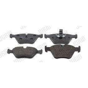 Bremsbelagsatz, Scheibenbremse Höhe 1: 64mm, Dicke/Stärke: 19,5mm mit OEM-Nummer 3411 6761 280