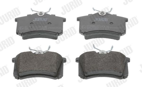 Bremsbeläge 571906D JURID 571906 in Original Qualität
