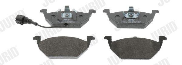 Bremsbeläge 571971J JURID 571971 in Original Qualität