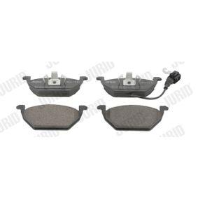 Bremsbelagsatz, Scheibenbremse Höhe 1: 55mm, Dicke/Stärke: 19,7mm mit OEM-Nummer 8Z0 698 151 A