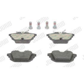Bremsbelagsatz, Scheibenbremse Höhe 1: 44mm, Dicke/Stärke 1: 14,3mm, Dicke/Stärke: 14,7mm mit OEM-Nummer 5892729