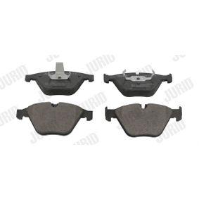 Bremsbelagsatz, Scheibenbremse Höhe 1: 66mm, Dicke/Stärke: 20,3mm mit OEM-Nummer 3411 2 339 270