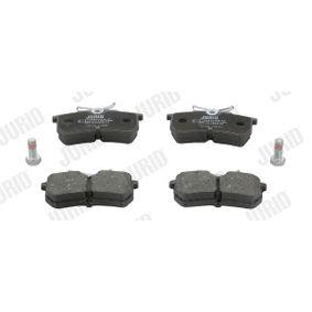 Bremsbelagsatz, Scheibenbremse Höhe 1: 43mm, Dicke/Stärke: 14,7mm mit OEM-Nummer 1 848 556