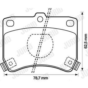 Bremsbelagsatz, Scheibenbremse Art. Nr. 572100J 120,00€