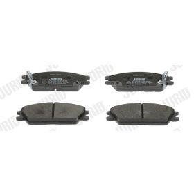 Bremsbelagsatz, Scheibenbremse Höhe 1: 50mm, Dicke/Stärke: 14,8mm mit OEM-Nummer 58101-24B00