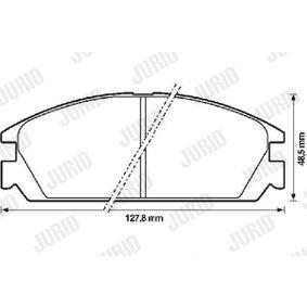 Brake Pad Set, disc brake Article № 572287J £ 140,00