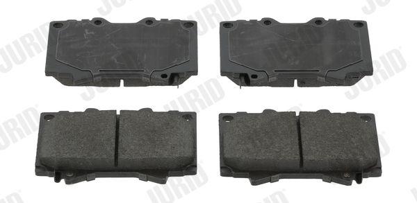 Bremsbeläge 572528J JURID 572528 in Original Qualität