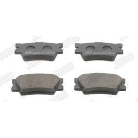 Bremsbelagsatz, Scheibenbremse Höhe 1: 49,5mm, Dicke/Stärke: 15,5mm mit OEM-Nummer 04466-06200