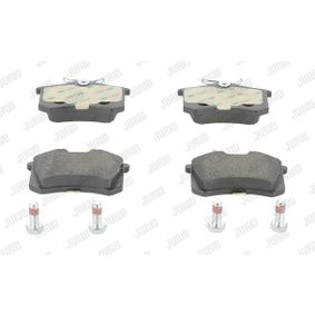 Bremsbelagsatz, Scheibenbremse Höhe 1: 53mm, Dicke/Stärke: 17mm mit OEM-Nummer 4254.C5