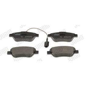 Bremsbelagsatz, Scheibenbremse Höhe 1: 53,4mm, Dicke/Stärke: 18mm mit OEM-Nummer 7 177 009 8