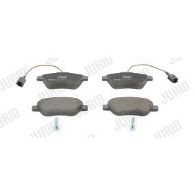Bremsbelagsatz, Scheibenbremse Höhe 1: 53mm, Dicke/Stärke: 18mm mit OEM-Nummer 71770098