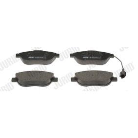 Bremsbelagsatz, Scheibenbremse Höhe 1: 57mm, Dicke/Stärke: 18,4mm mit OEM-Nummer 71770118
