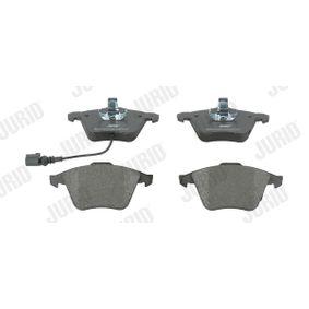 Bremsbelagsatz, Scheibenbremse Höhe 1: 72,9mm, Dicke/Stärke: 20,2mm mit OEM-Nummer 1K0 698 151B