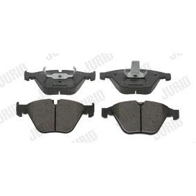 Brake Pad Set, disc brake 573210JC 3 Saloon (E90) 335d 3.0 MY 2011