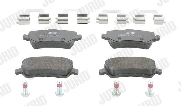 Bremsbeläge 573250J JURID 573250 in Original Qualität
