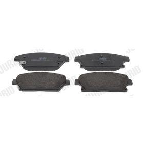 Bremsbelagsatz, Scheibenbremse Höhe 1: 61,2mm, Dicke/Stärke: 18,8mm mit OEM-Nummer 95 51 6193