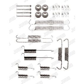 Zubehörsatz, Bremsbacken mit OEM-Nummer 701 609 531