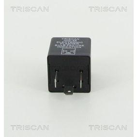 TRISCAN Blinkgeber 1010 EP35 für AUDI 90 (89, 89Q, 8A, B3) 2.2 E quattro ab Baujahr 04.1987, 136 PS