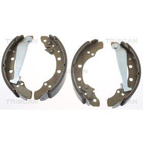 Bremsbackensatz Breite: 40mm mit OEM-Nummer 1H0609 527