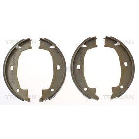 Brake Shoe Set Width: 20mm with OEM Number 34416761291