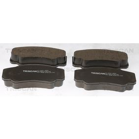 Bremsbelagsatz, Scheibenbremse Breite: 109,7mm, Höhe: 50mm, Dicke/Stärke: 20mm mit OEM-Nummer 4254.68