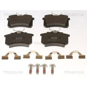 Brake Pad Set, disc brake 8110 10544 MEGANE 3 (BZ0) 1.6 16V MY 2008