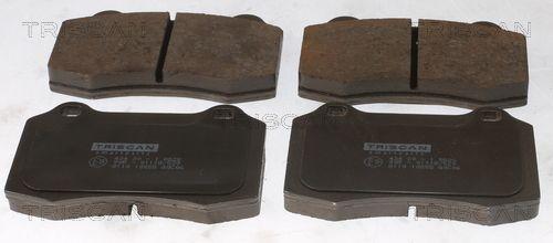 TRISCAN  8110 10555 Bremsbelagsatz, Scheibenbremse Breite: 109,7mm, Höhe: 69,3mm, Dicke/Stärke: 14,8mm