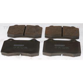 Bremsbelagsatz, Scheibenbremse Breite: 109,7mm, Höhe: 69,3mm, Dicke/Stärke: 14,8mm mit OEM-Nummer 3 066 555 2