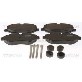 Bremsbelagsatz, Scheibenbremse Breite: 163,1mm, Höhe: 67,1mm, Dicke/Stärke: 20,8mm mit OEM-Nummer 2E0698151