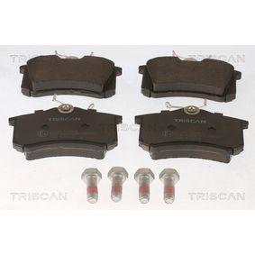 Bremsbelagsatz, Scheibenbremse Breite: 87mm, Höhe: 52,9mm, Dicke/Stärke: 15mm mit OEM-Nummer 191-698-451