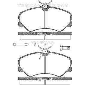 Bremsbelagsatz, Scheibenbremse Breite: 144,9mm, Höhe: 71,6mm, Dicke/Stärke: 19,5mm mit OEM-Nummer 4250.47