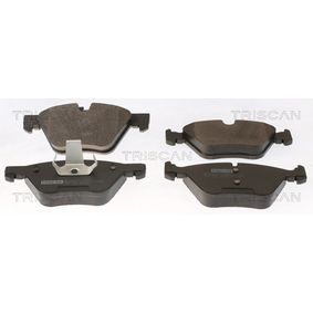 Bremsbelagsatz, Scheibenbremse Breite: 154,8mm, Höhe: 63,6mm, Dicke/Stärke: 20mm mit OEM-Nummer 34116799166