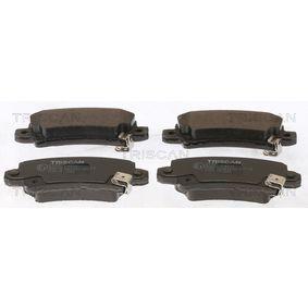 Bremsbelagsatz, Scheibenbremse Breite: 95,5mm, Höhe: 37,84mm, Dicke/Stärke: 16,1mm mit OEM-Nummer 04466-02040
