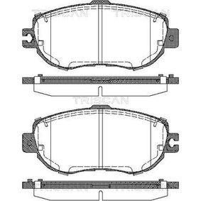 Bremsbelagsatz, Scheibenbremse Breite: 144mm, Höhe: 63,8mm, Dicke/Stärke: 17,8mm mit OEM-Nummer 04465-50110