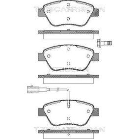 Bremsbelagsatz, Scheibenbremse Breite: 123mm, Höhe: 53,3mm, Dicke/Stärke: 17,8mm mit OEM-Nummer 77 364 874