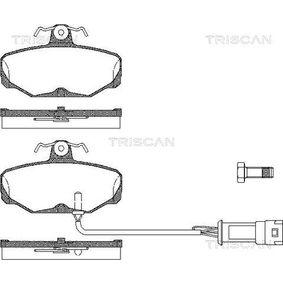 Bremsbelagsatz, Scheibenbremse Breite: 89,8mm, Höhe: 54mm, Dicke/Stärke: 13,5mm mit OEM-Nummer 6 185 119